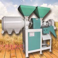 苞米制糁磨面机 脱皮除尘打渣一体机 多功能玉米大米制渣子机