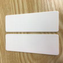 氧化铝陶瓷圆片 陶瓷环导热陶瓷绝缘垫片 耐磨陶瓷散热片非标定制