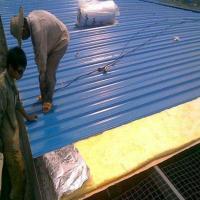 离心玻璃棉毡 保温隔热屋顶隔热用玻璃棉毡管道保温棉 消音棉 吸音棉