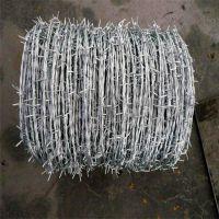带刺铁丝 不生锈刺线 毛铁刺厂家