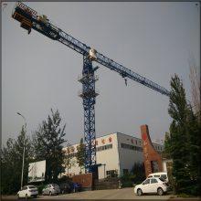 山东塔吊厂家百脉QTZ250(TC7020-12T)尖头70米臂长大型塔机起升变频片式标节