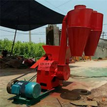 饲料粉碎机 大型沙克龙自动进料青玉米秸秆粉碎机
