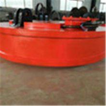 厂家生产废钢电磁吸盘 强磁电磁铁废铁圆形电磁吸盘 废钢厂磁盘
