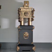 广东木雕佛像摆件定制 铜鼎摆件礼品 高档纯铜鼎摆件