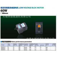 杭州中大低压无刷直流电机 Z4BLD60-24GN/4GN18K