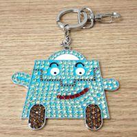 时尚水钻宝宝钥匙扣女生包包挂件汽车钥匙扣