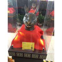 子鼠丑牛精品十二兽首展产品资源租赁 兽首展商场展示效果