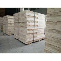 厂家批发板材包装 全顺向LVL免熏蒸木方木条 托盘包装箱专用木材