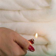 供应黏胶阻燃棉 床垫夹层用黏胶阻燃棉 可降解阻燃棉