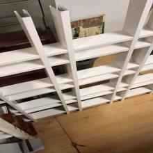 中山厂家直销定制 铝格栅吊顶天花材料木纹铝格栅