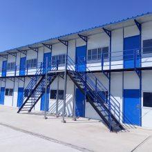 工地住人办公临时住房活动板房彩钢板房材料批发搭建