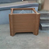 厂家直销市政园林仿木花桶花盆花箱