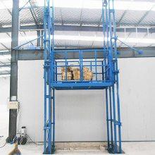德州市恒久机械定制, 标准导轨式升降货梯 300千克专用升降货梯