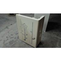 铝雕花工艺-铝艺屏风装饰间断