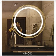 弘润定制加工 浴室镜 卫浴镜 化妆镜各种尺寸定制加工