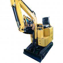 10型履带挖掘机 农用果园微型挖掘机 迷你液压挖掘机价格
