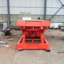 渭南工厂货梯 载重10吨剪叉式升降货梯 380V电源升降 航天厂家 量身定制