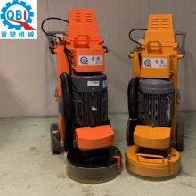 上海石材打磨机械生产商 上海青壁大理石保养翻新机 新款12头地坪固化抛光研磨机源头厂家