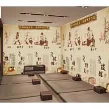 会议厅壁画手绘报价及图片全貌展示_永煜科技
