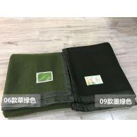 山东威海恒泰毛毯厂长期直供批发供应直销军绿色毛毯***军毯