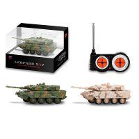 新品电动遥控坦克车儿童军事玩具车模型2A7豹式坦克热销礼品赠品