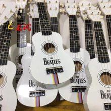 木制吉他面板3D图案打印机 工业高清uv浮雕打印机厂家