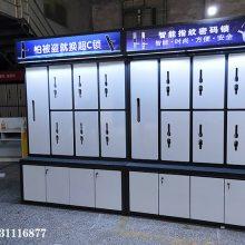 宁波 密码锁架 王力 高端品牌锁具店智能锁展示柜供应