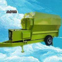 加厚材质定制双轴tmr搅拌机 饲料粉碎混合拌料机 中泰机械