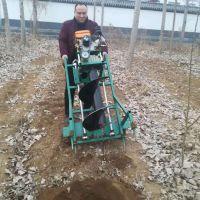 亚博国际真实吗机械 汽油四冲程挖坑机 植树挖坑机园林种植手提挖坑机 大直径打洞机植树挖坑机
