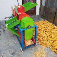 厂家直销电动稻麦脱粒机小型多功能大豆脱粒机