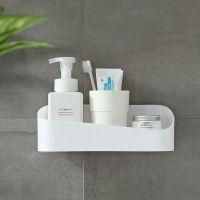 浴室置物架 卫生间强力粘贴 壁挂收纳架浴室墙上化妆盒免打孔批发