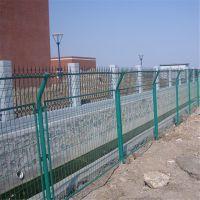 农业基地圈地防护网 铁路边框钢护网 框架护栏网厂家