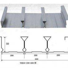 镇江市YX51-200-600型闭口楼承板_建筑楼面钢承板厂家