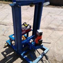 厂家直销立架式打井机器 4KW民用小型水井钻机 室内钻井设备