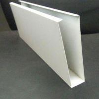 广州金属木纹铝方通厂家-型材彩色铝格栅直销