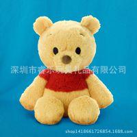 维尼熊公仔 厂家直销设计来图定制开发生产毛绒玩具动漫周边产品