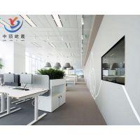 白色吸音天花板 吸音隔音玻纤吊顶板
