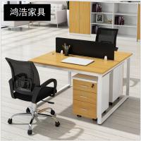江西职员办公桌简约现代钢架组合工作位员工电脑桌屏风卡位办公桌椅报价