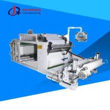 耐用热熔胶膏药机 全自动复合分切涂布机 透气点状膏药涂布机