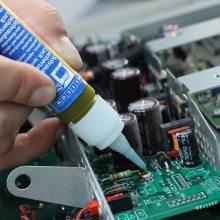 德运兴业 螺纹记号胶 作为隔绝胶为导电部件进行绝缘处理,且能够防止由接触引起的腐蚀。