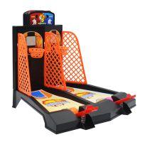 跨境*** 双人手指弹射篮球游戏机 互动桌面游戏玩具迷你投篮机