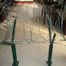 厂家直供刀片刺网 Y型安全防御网 监狱看守所刺丝滚笼
