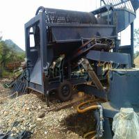 复杂地形用什么淘金设备 移动方便的沙金机械 轮式选金车