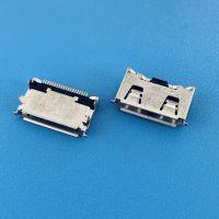三星20PIN母座/M300/SAMSUNG板上型四脚插板SMT/有导位/带弹片