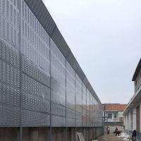 成都隔音屏障厂家空调外机声屏障工厂冷却塔金属隔音墙安装