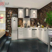 富滋雅橱柜整体橱柜定制厨柜定做现代简约田园风板环保柜体