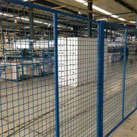 车间隔离网 阻隔网厂家 工厂浸塑围栏网