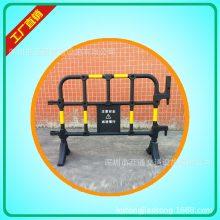 1.6米胶马护栏、黄黑塑料护栏、移动塑料护栏、市政施工围挡
