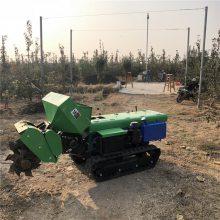 蜜桔园自动施肥机 开沟回填一体式多功能田园管理机