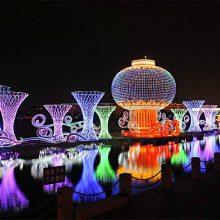西安花灯制作厂家 巴彦淖尔如何制作60公分的花灯 元宵节彩灯